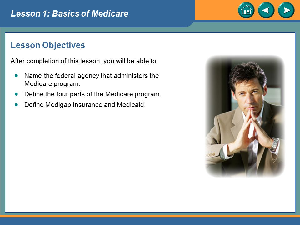Introduction to Medicare Lesson 7 Medicaid