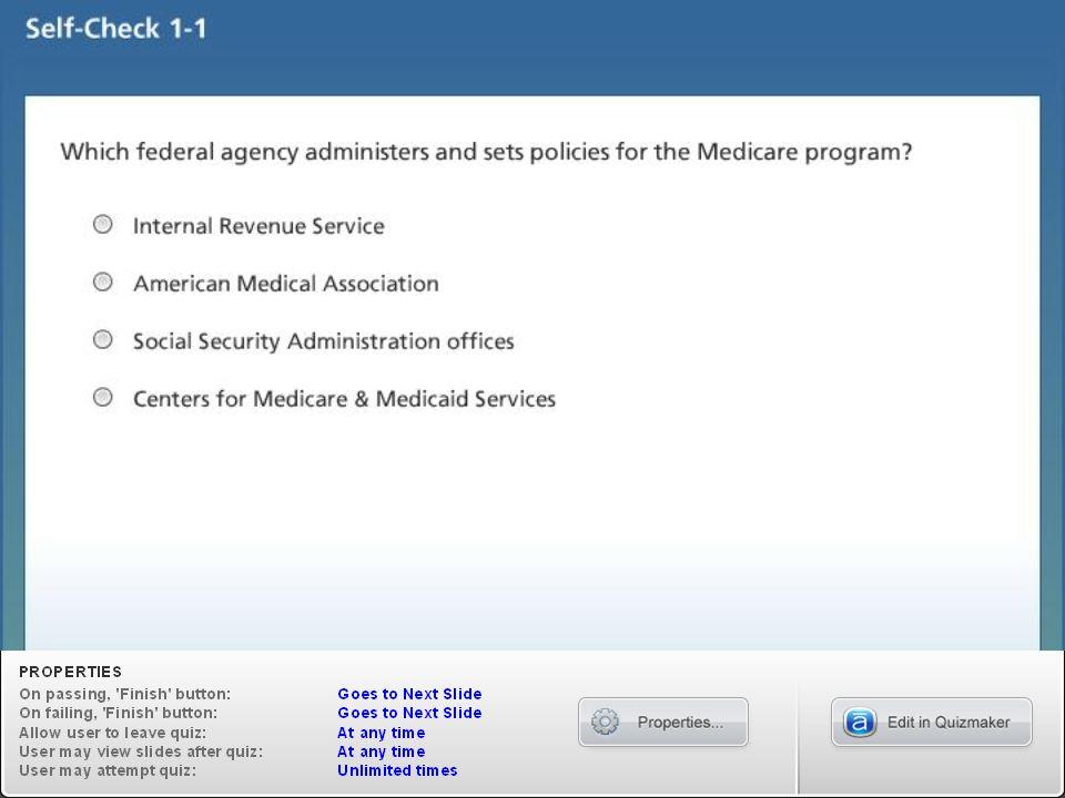 Introduction to Medicare Lesson 4 Medicare Part C (Medicare Advantage)