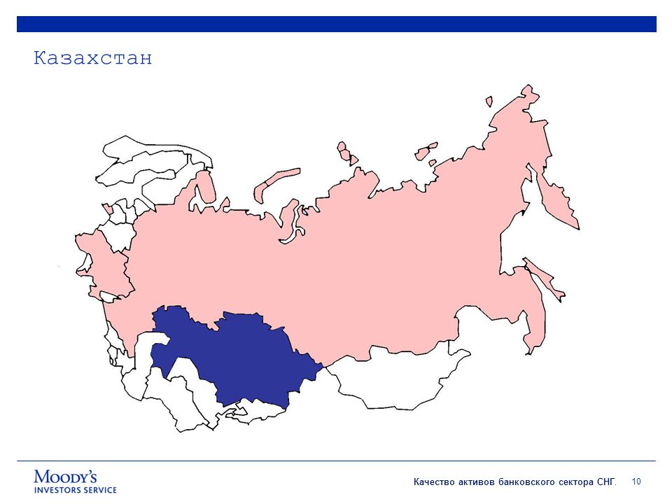 Качество активов банковского сектора СНГ. Казахстан 10