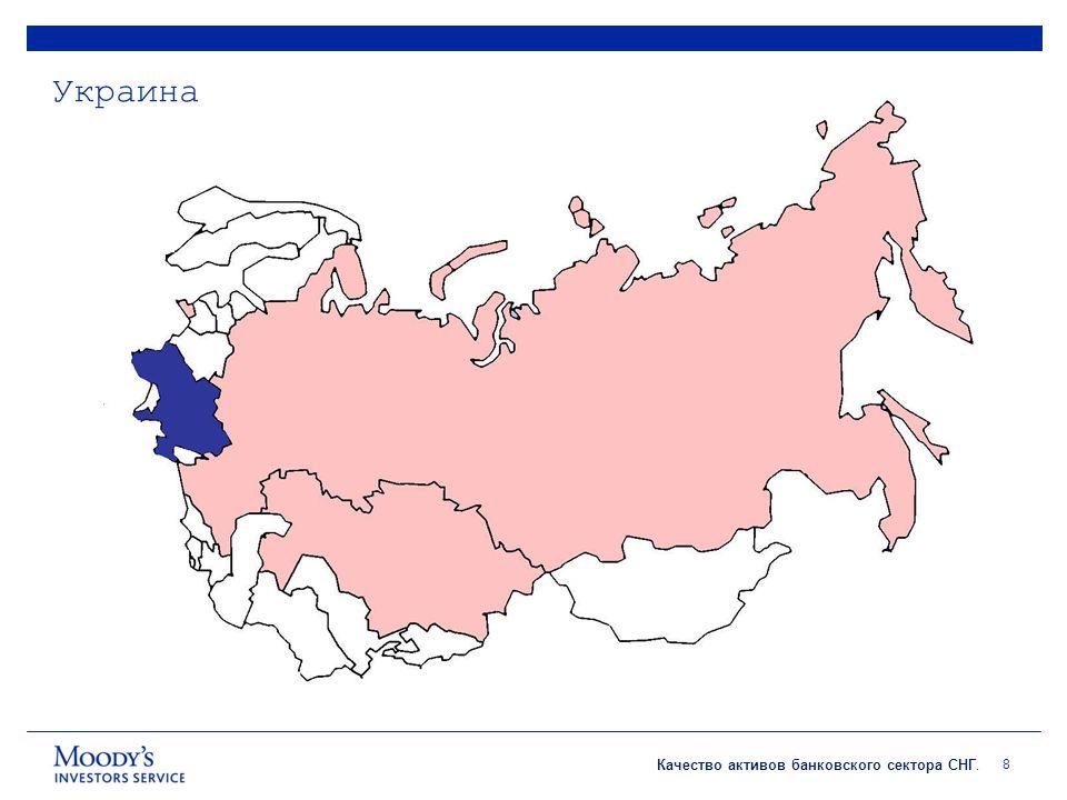 Качество активов банковского сектора СНГ. Украина 8