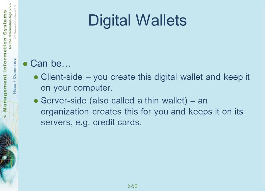 5-60 B2B Payment Systems Business customers… Make large purchases Will not pay with credit card or financial cybermediary Use financial EDI Pay for many purchases at once (perhaps the end of the month)