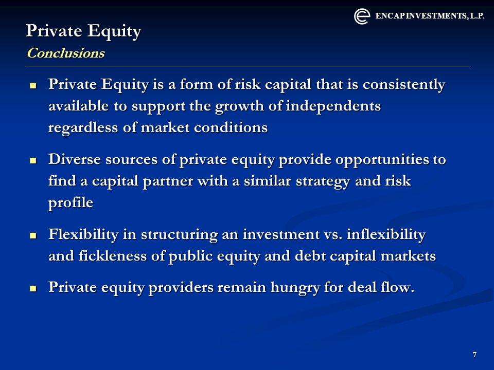ENCAP INVESTMENTS, L.P.18 What Sets EnCap Apart.