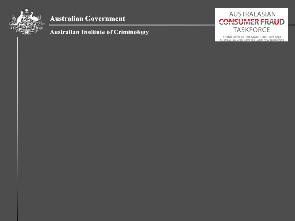 Australian Government Australian Institute of Criminology
