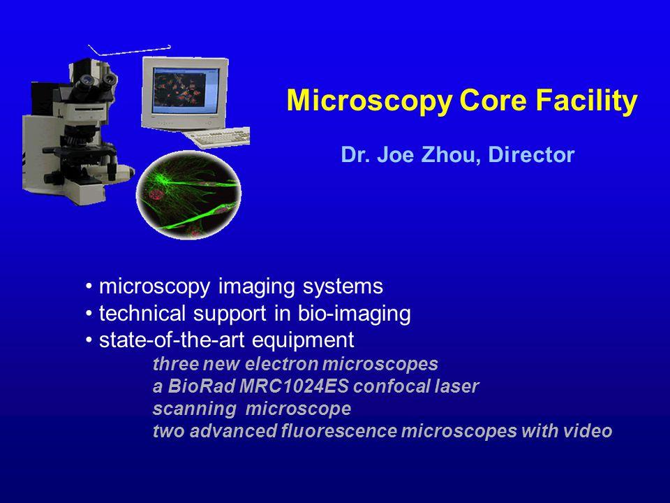 Microscopy Core Facility Dr.