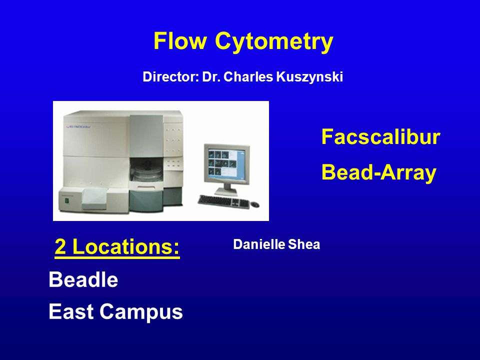 Flow Cytometry Danielle Shea Director: Dr.