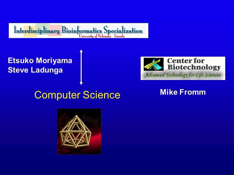 Etsuko Moriyama Steve Ladunga Computer Science Mike Fromm