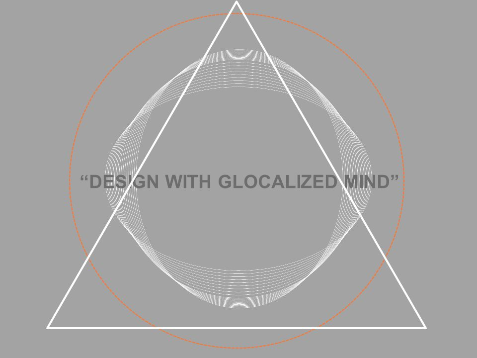 DESIGN WITH GLOCALIZED MIND