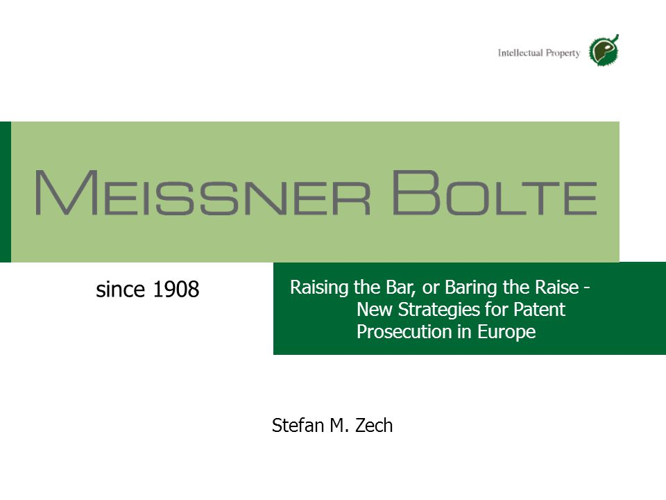Chart 107.05.2015 Partners of Meissner Bolte Stefan M.