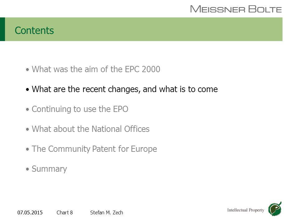 Chart 807.05.2015 Partners of Meissner Bolte Stefan M.