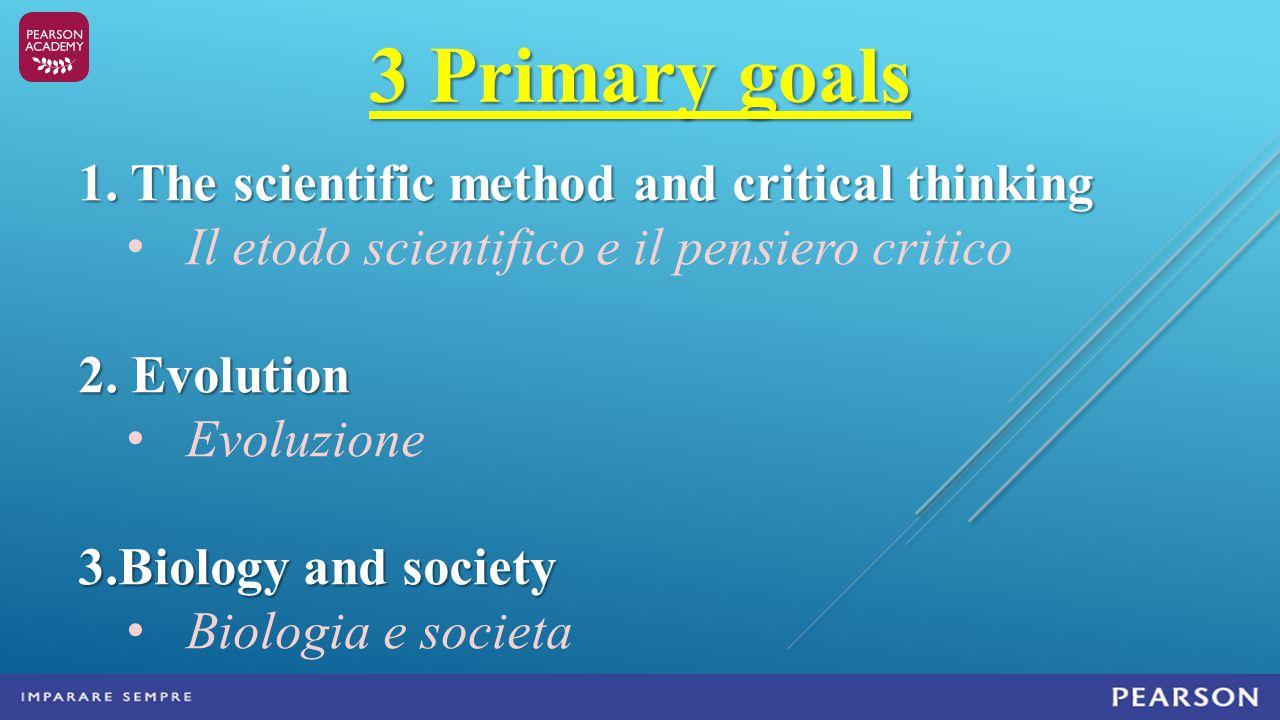 3 Primary goals 1.