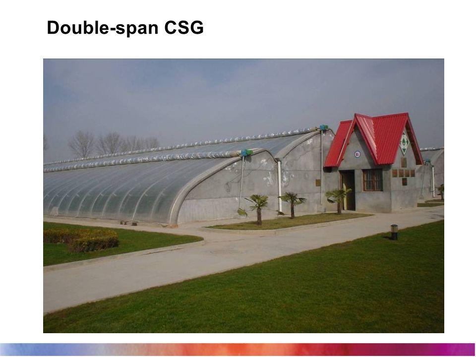 Double-span CSG