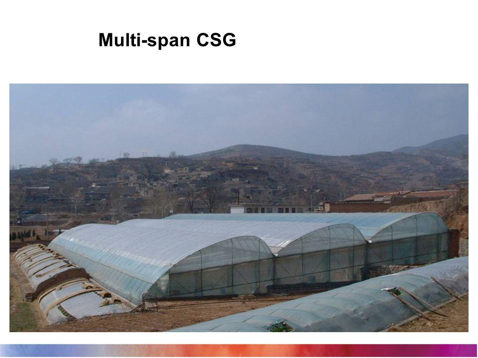Multi-span CSG