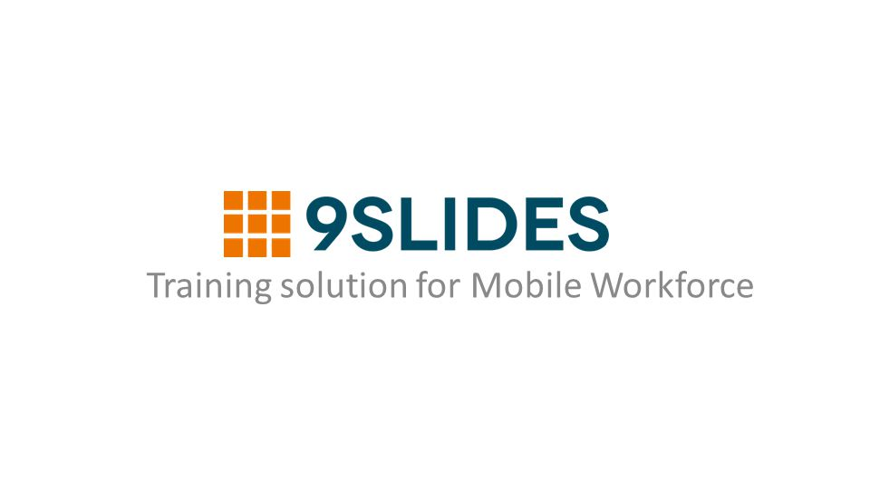 Training solution for Mobile Workforce