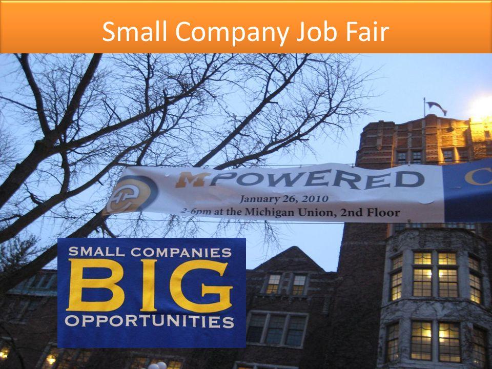 Small Company Job Fair