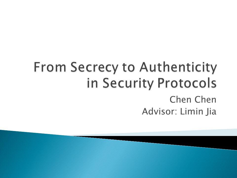 Chen Advisor: Limin Jia