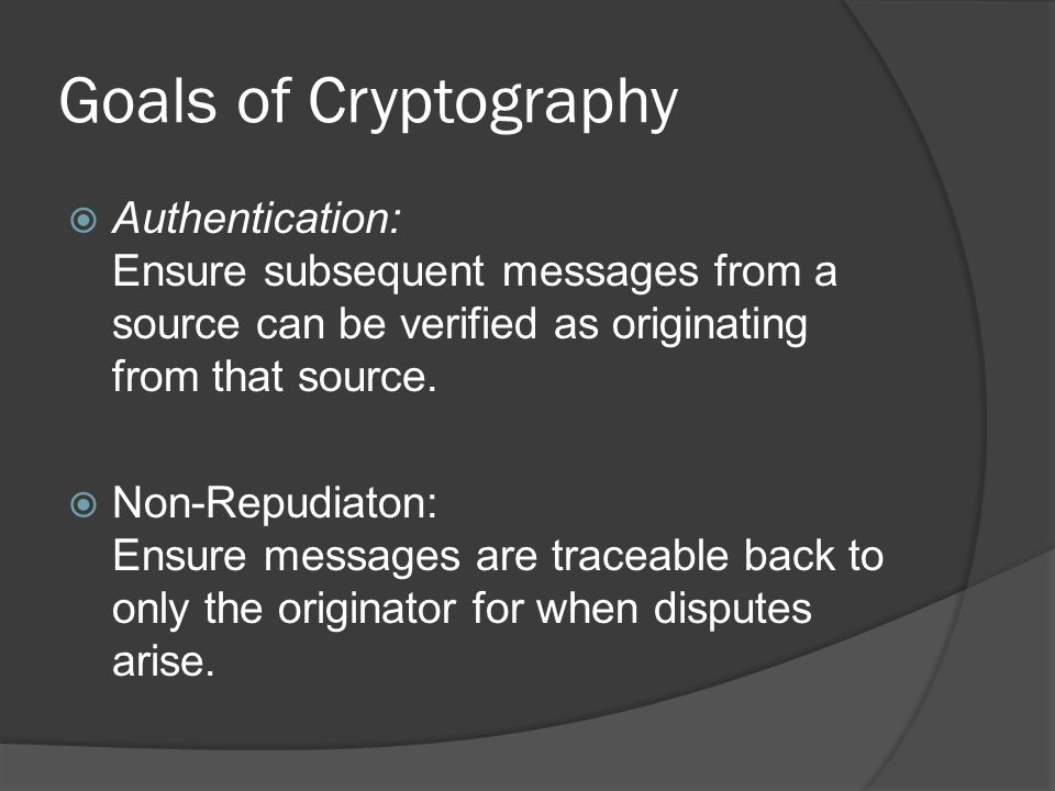Symmetric Key Cryptography  The same key is used for both encrypting and decrypting data.