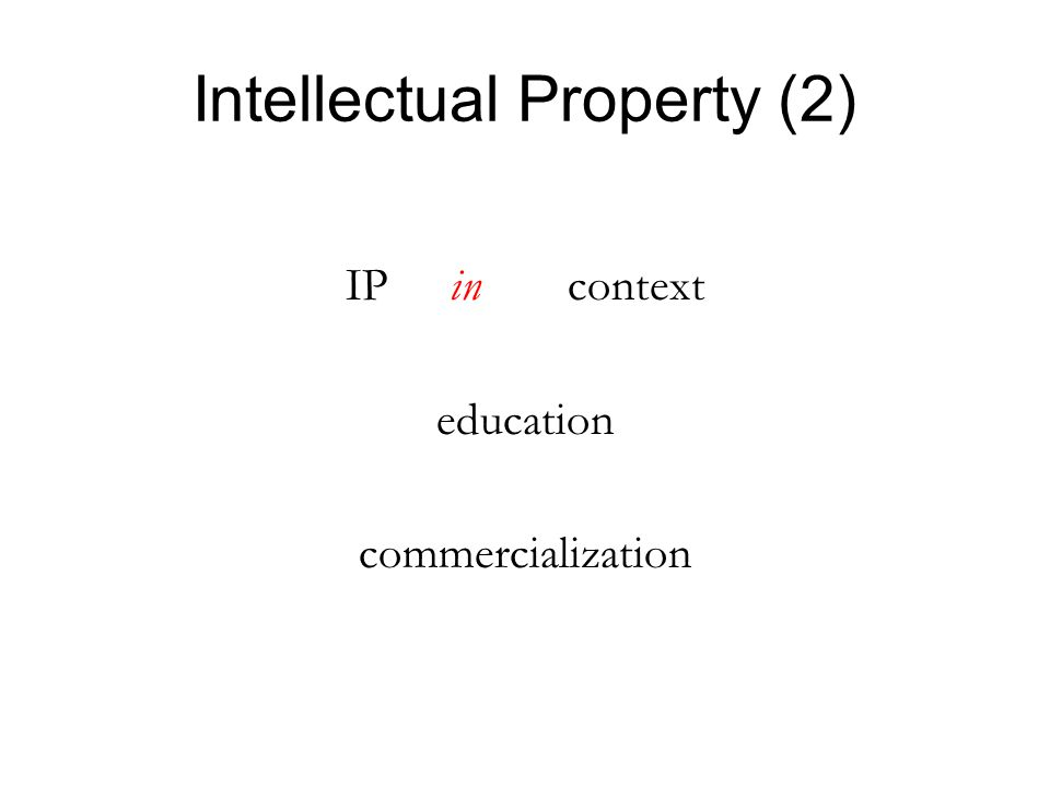 InstitutionIP Own'pPolicy Incl .