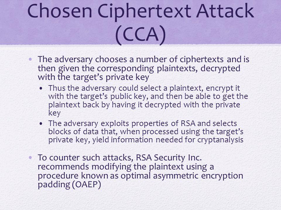 Optimal Asymmetric Encryption Padding (OAEP)