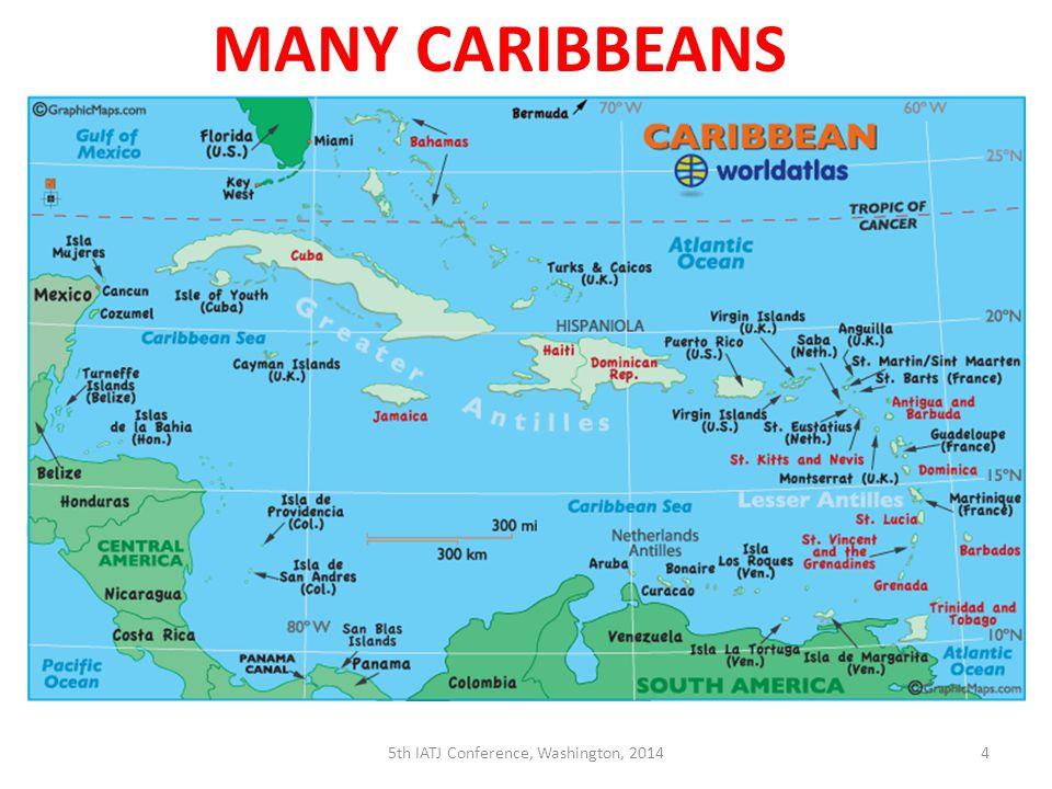 4 MANY CARIBBEANS