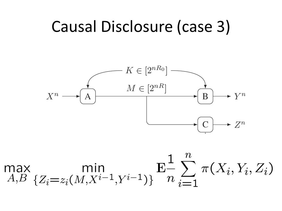 Causal Disclosure (case 3)