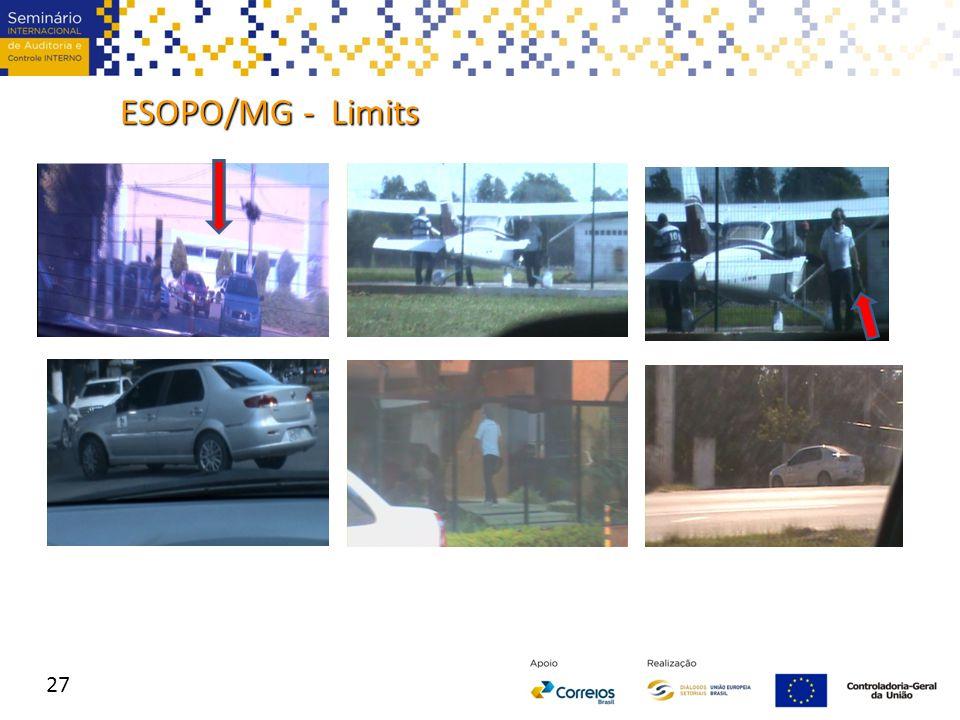 ESOPO/MG - Limits 27