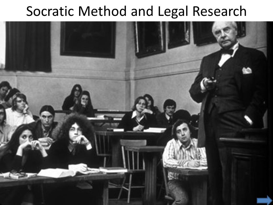 Socratic Method and Legal Research