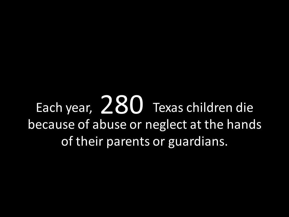 40,000 In one year, Children's Advocacy Centers in Texas serve children.