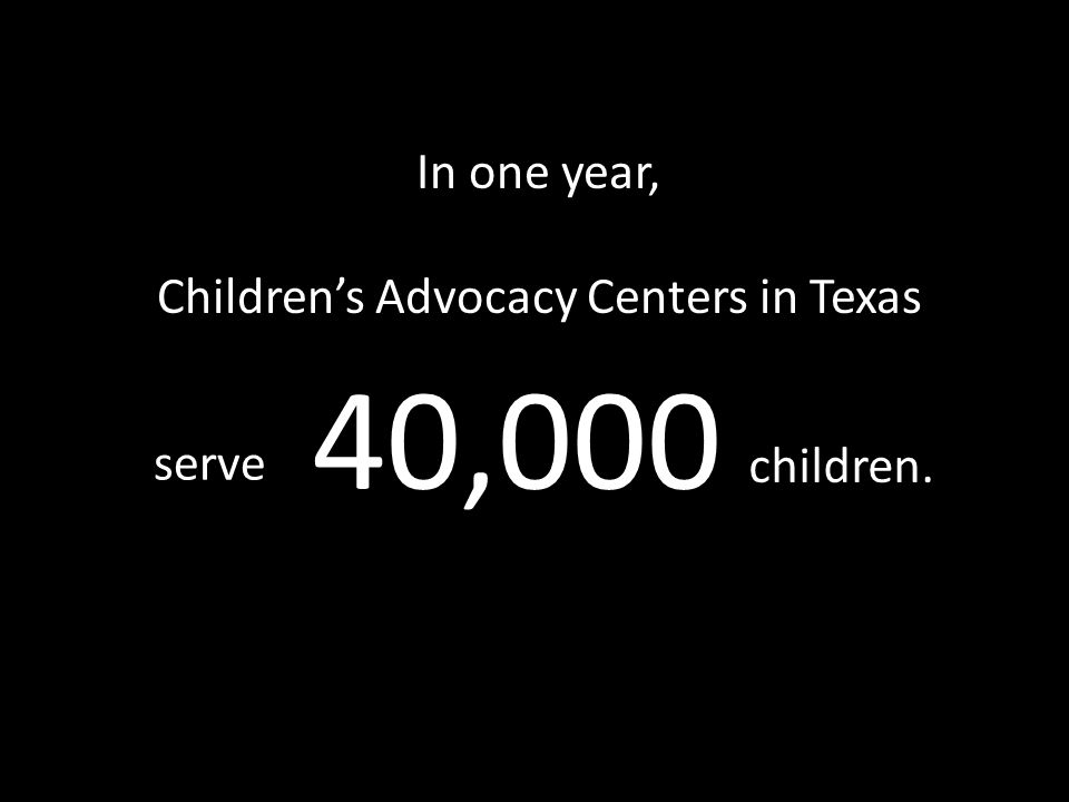 74% of these children are involved in sexual abuse cases. 40,000