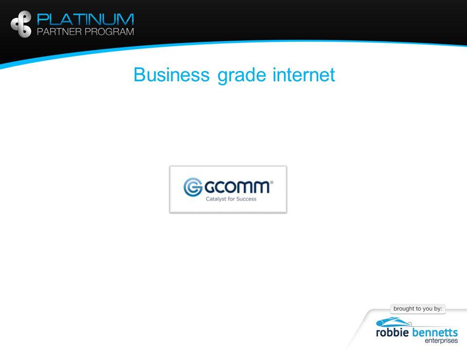 Business grade internet