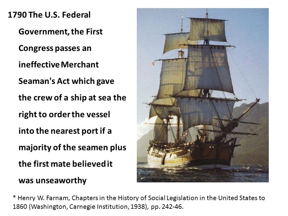 1790 The U.S.