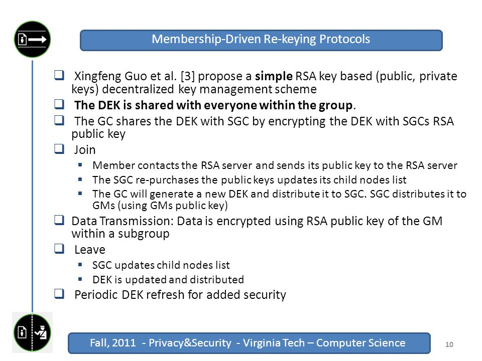 Fall, 2011 - Privacy&Security - Virginia Tech – Computer Science Click to edit Master title style Fall, 2011 - Privacy&Security - Virginia Tech – Computer Science  Xingfeng Guo et al.