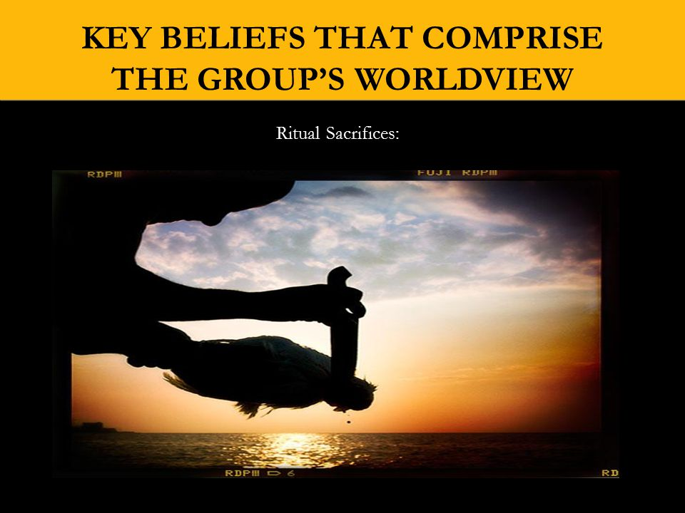 KEY BELIEFS THAT COMPRISE THE GROUP'S WORLDVIEW Orisha Head Guardian Babalz Ayi became St.
