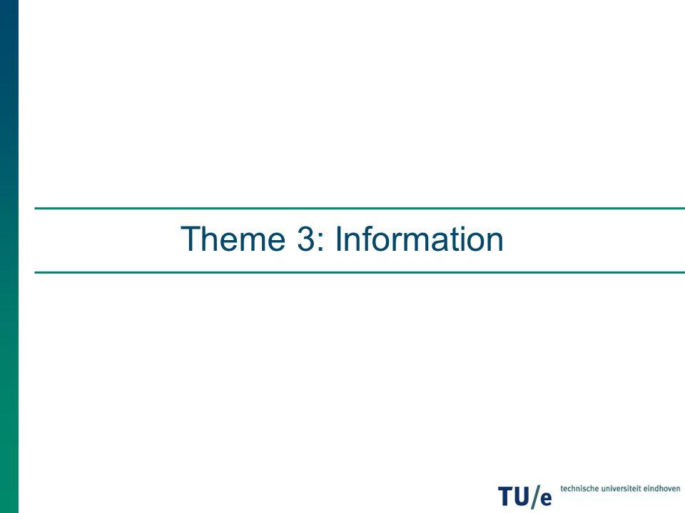 Theme 3: Information