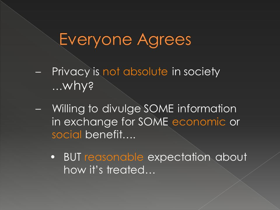 My right to informational privacy vs.others' right to know vs.
