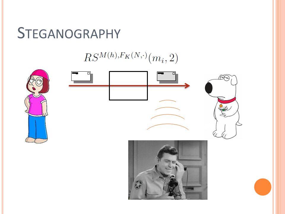S TEGANOGRAPHY