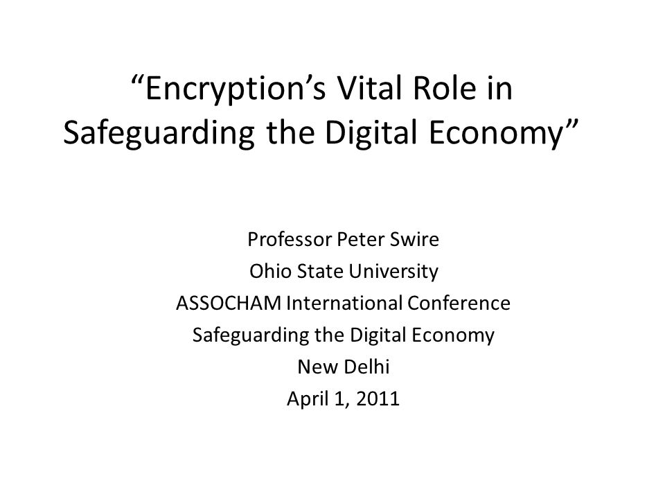 Overview My view – should have strong encryption, not weak cybersecurity Short history of wiretaps, phone & data U.S.