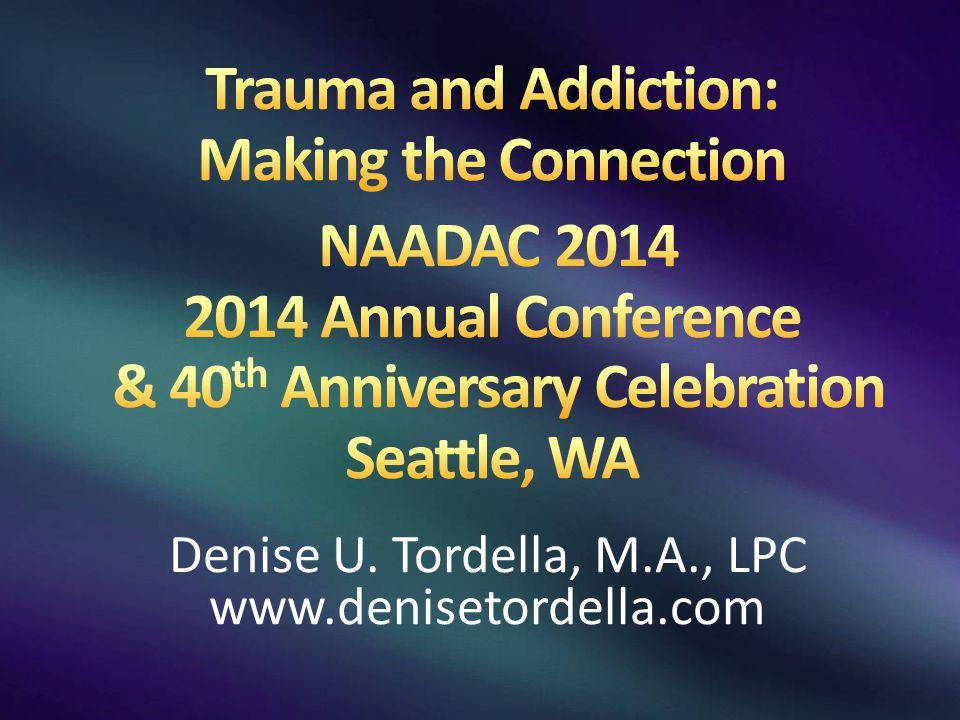 Denise U. Tordella, M.A., LPC www.denisetordella.com