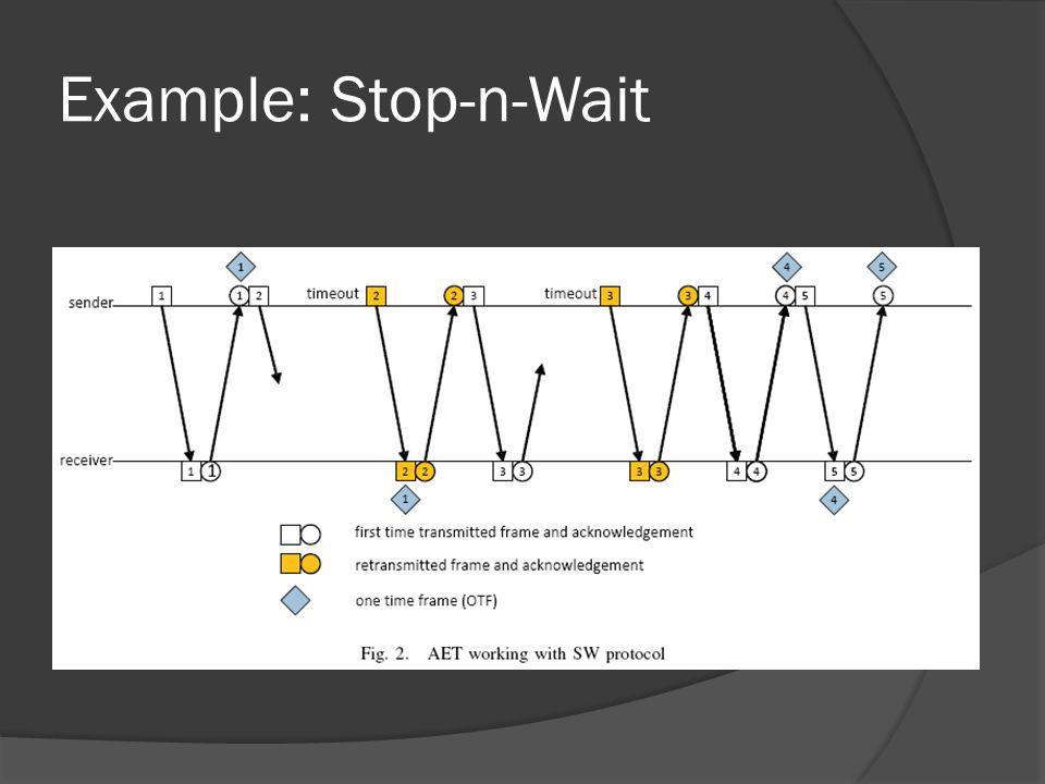 Example: Stop-n-Wait