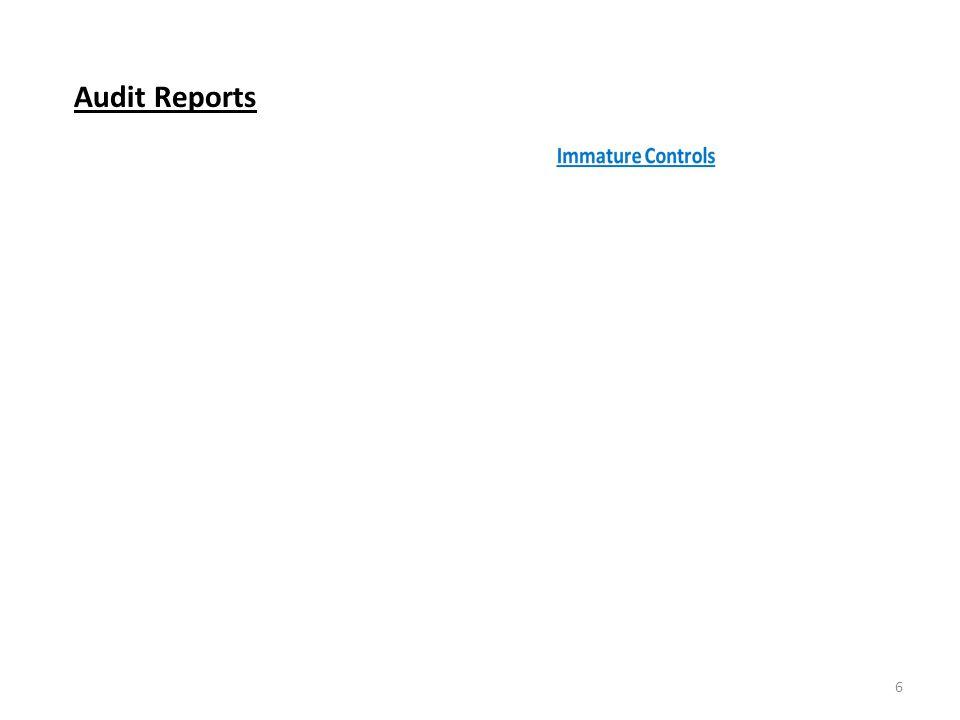 Audit Reports 6