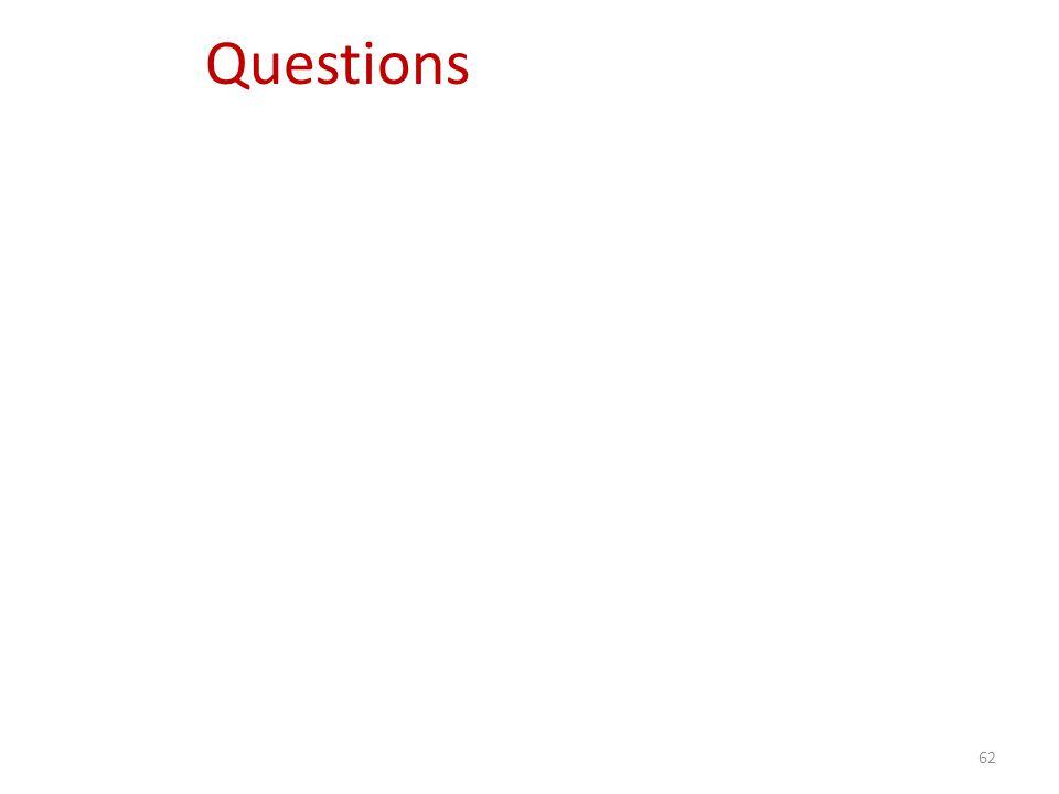 62 Questions