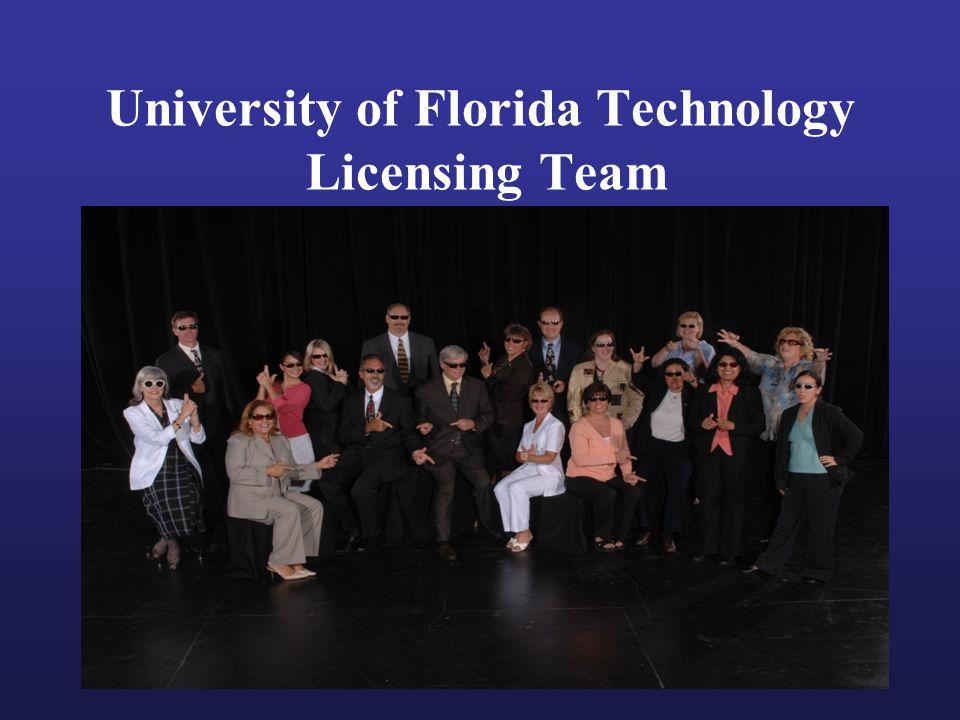 University of Florida Technology Licensing Team