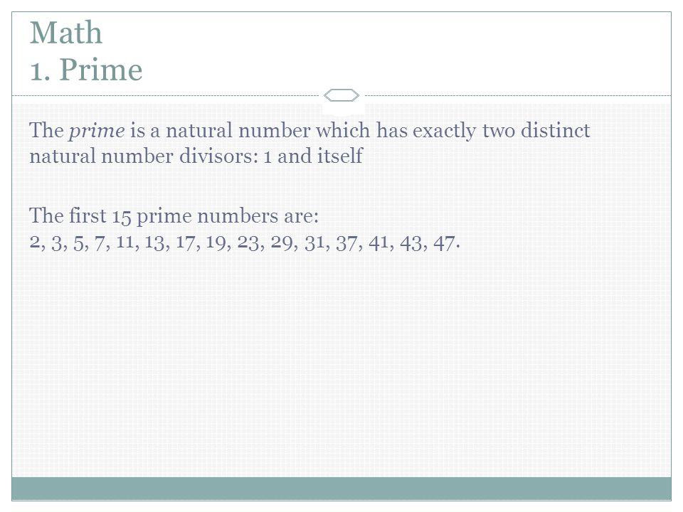 Math 1.