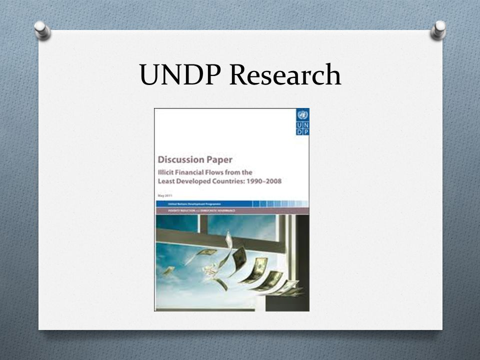 UNDP Research