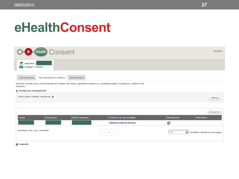 eHealthConsent 27 09/03/2015