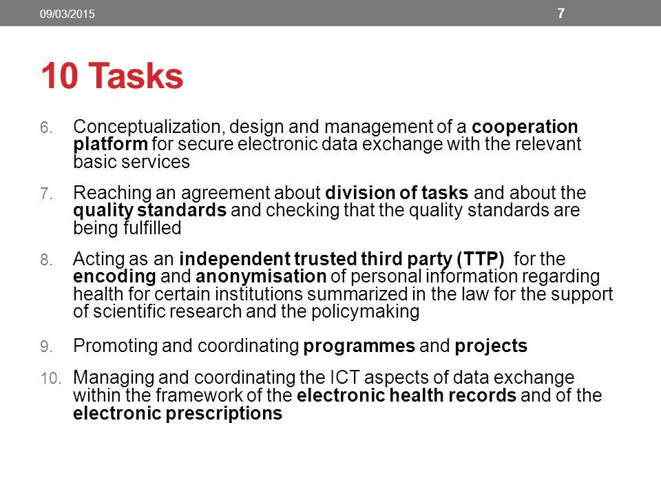 10 Tasks 6.
