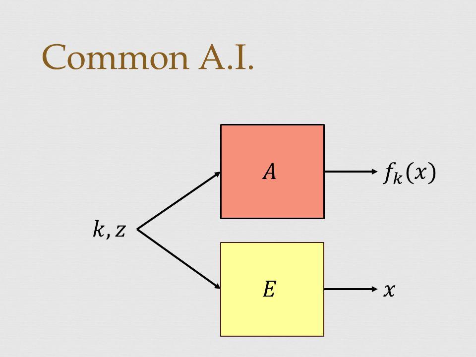 Common A.I.