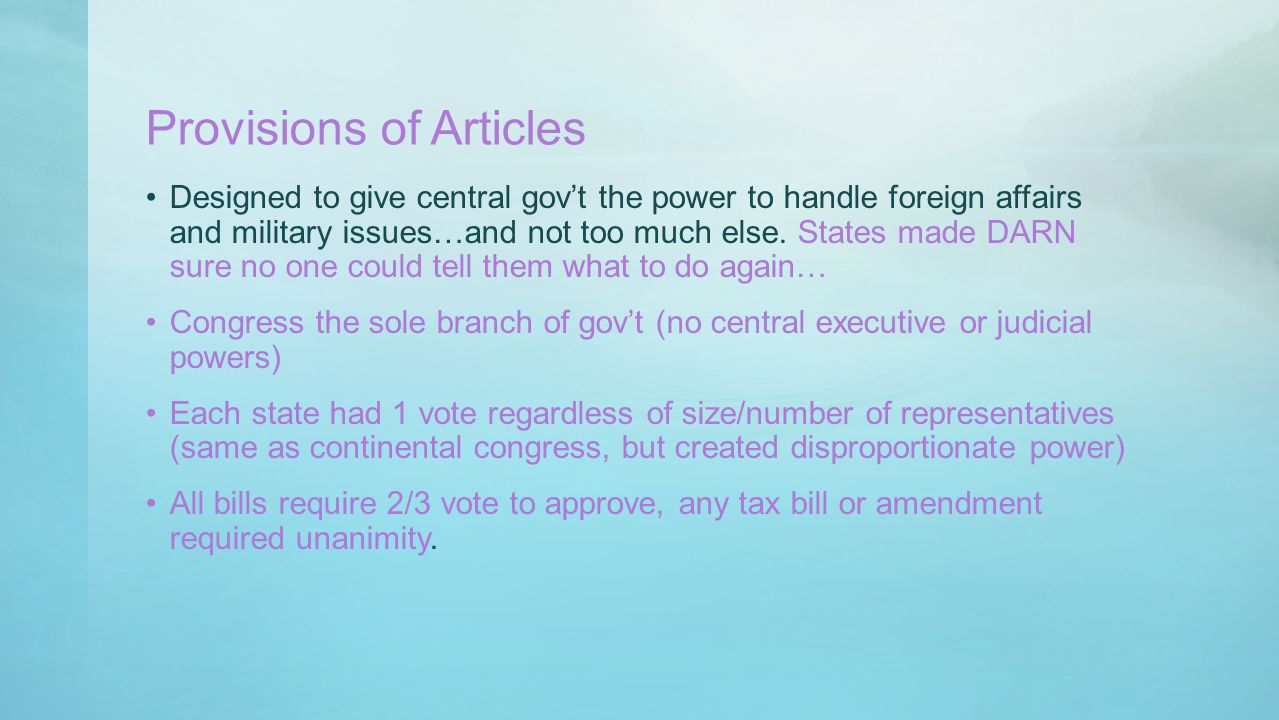 The Federalist Anti-federalists had some legitimate concerns.
