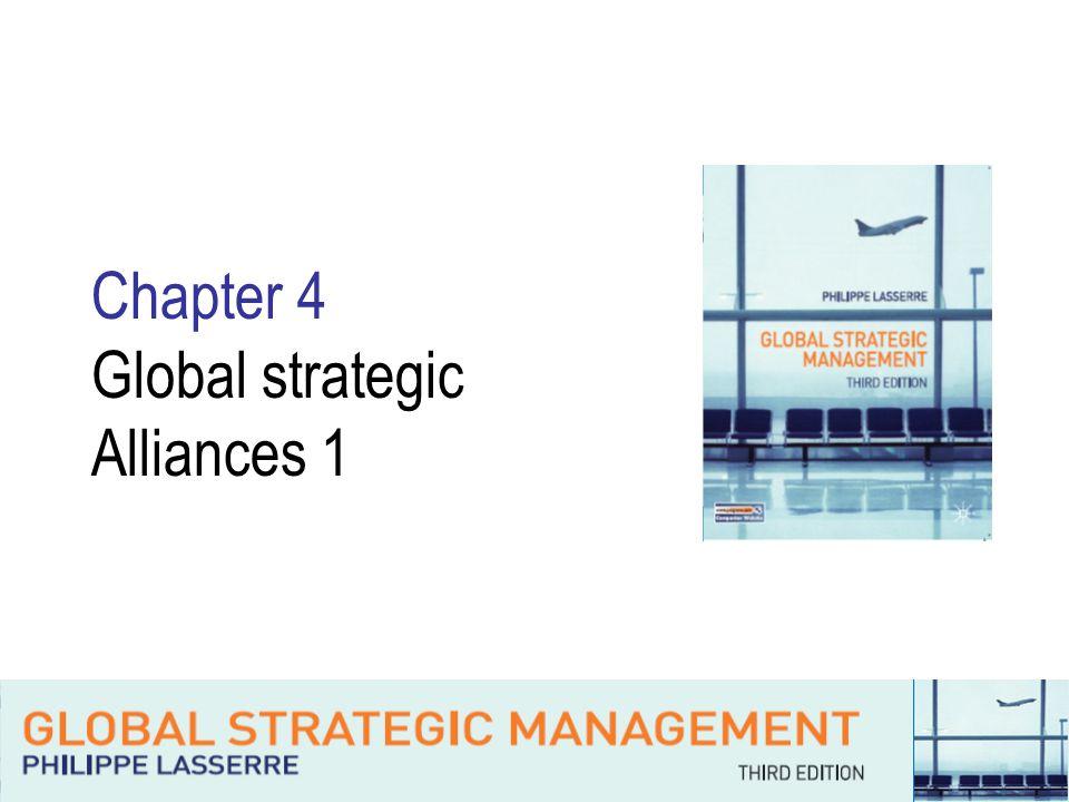 Chapter 4 Global strategic Alliances 1