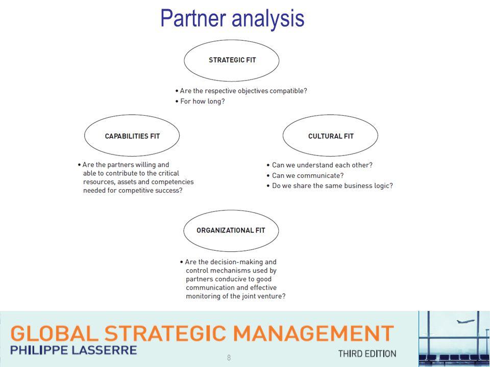 8 Partner analysis