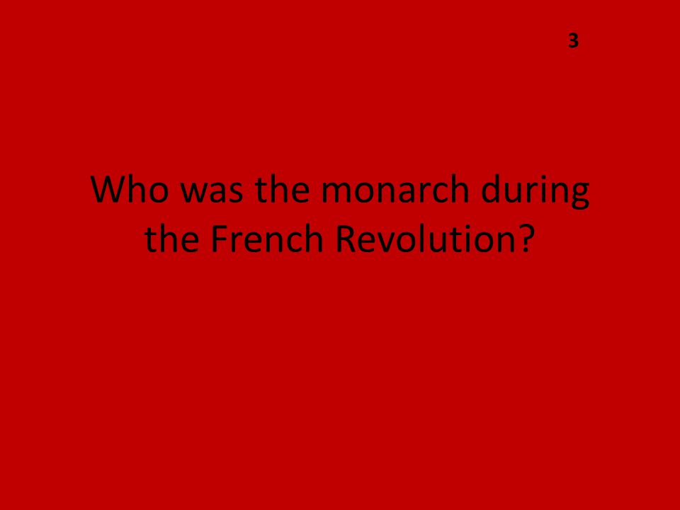 What was the storming of the Bastille? 9